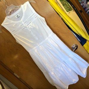 Old Navy EUC white dress, size M